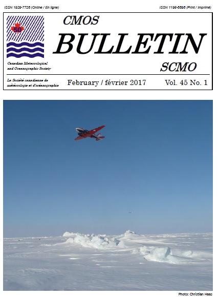 Page couverture du Bulletin de la SCMO